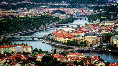 Along The Vltava River Art Print