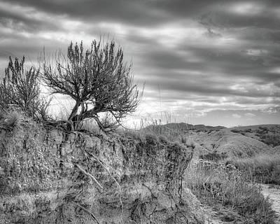 Photograph - Along The Wash - Toadstool Geologic Park - Nebraska by Nikolyn McDonald