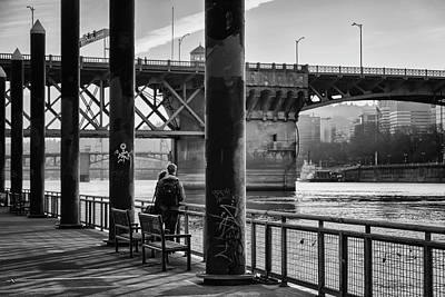 Photograph - Along The Waterfront by Steven Clark