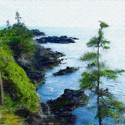 Photograph - Along The West Coast 1 by David Lane