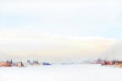 Photograph - Along The Winter River by Theresa Tahara