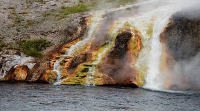 Photograph - Along The Yellowstone by Hugh Smith
