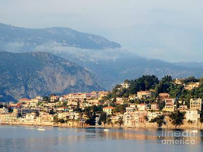 Photograph - Along Villefranche Coast by Neil Zimmerman