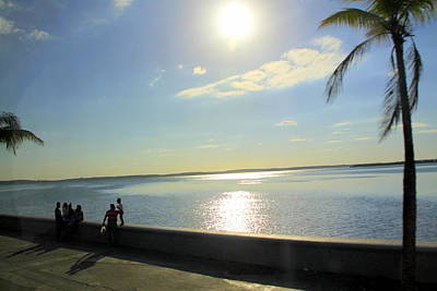 Photograph - Along The Malecon In Cienfuegos, Cuba by Laurel Talabere