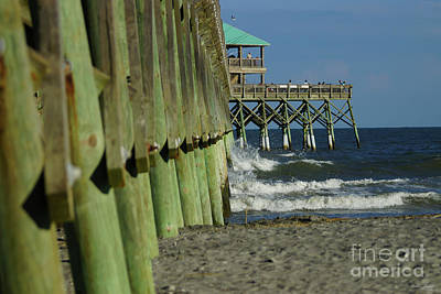 Photograph - Alongside Folly Pier by Jennifer White