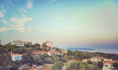 Alonissos Landscape View Art Print