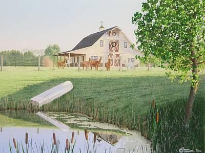 Alpaka Farm Art Print