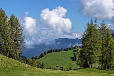 Photograph - Alpe Di Siusi Scenery by Carolyn Derstine