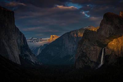 Photograph - Alpen Glow In Yosemite by Constance Reid