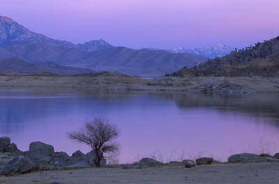 Alpenglow - Lake Isabella Print by Soli Deo Gloria Wilderness And Wildlife Photography