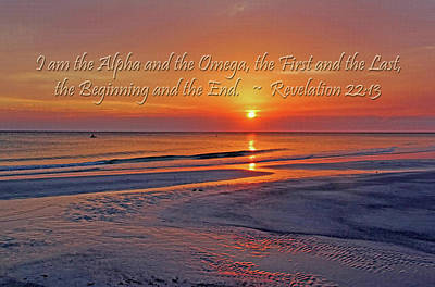 Photograph - Alpha And Omega by HH Photography of Florida