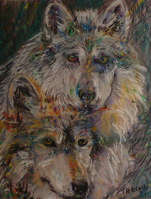 Painting - Alpha Pair by Todd  Peterson