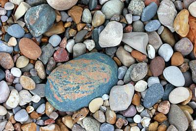 Photograph - Alpha Rock On The Beach by Mary Bedy
