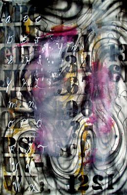 Alphabet Art Print by Leigh Odom