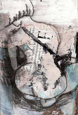 Painting - Alphabet Nude E by Joanne Claxton
