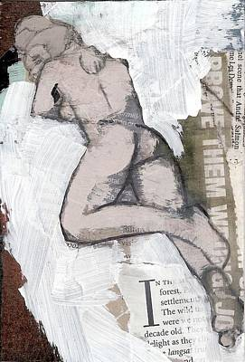 Painting - Alphabet Nude I by Joanne Claxton