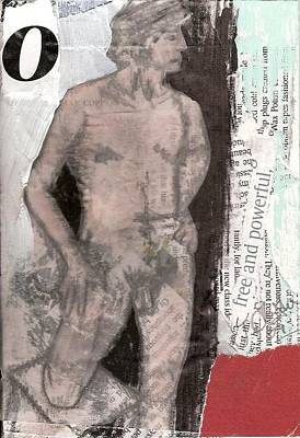 Painting - Alphabet Nude O by Joanne Claxton