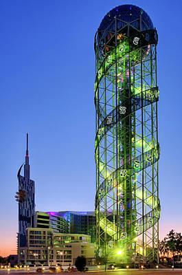 Photograph - Alphabetic Tower by Fabrizio Troiani