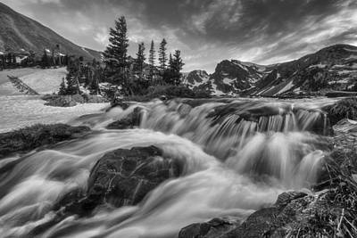 Mountain Royalty-Free and Rights-Managed Images - Alpine Flow by Darren White