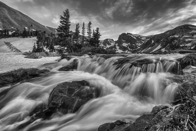 Alpine Flow Art Print