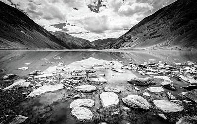 Photograph - Alpine Lake In Kashmir by Alexey Stiop