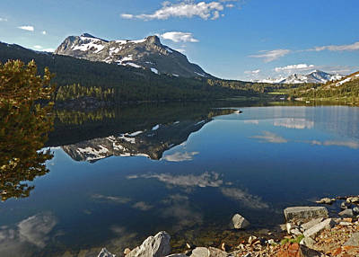 Photograph - Alpine Lake Reflections by Walter Fahmy