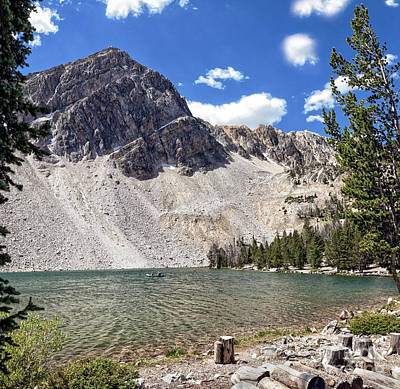 Photograph - Alpine Lake by Robert Bales