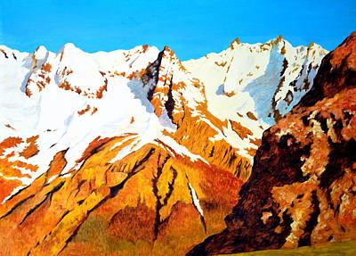 Painting - Alpine Landscape by Henryk Gorecki