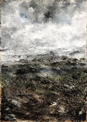 August Strindberg Painting - Alpine Landscape I by August Strindberg