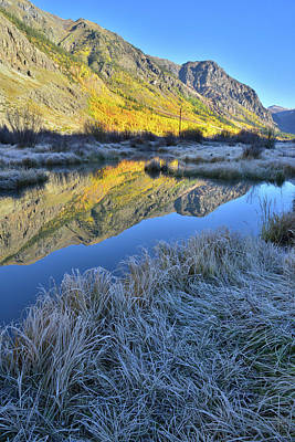 Photograph - Alpine Loop Road Pond by Ray Mathis
