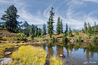 Photograph - Alpine Pond In The Fall by Jeff Goulden