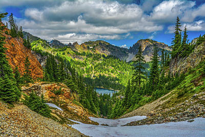 Photograph - Alpine Solitude by Jason Brooks
