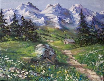 Alpine Splendor Art Print