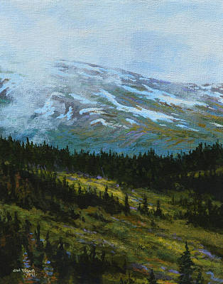 Mental Painting - Alpine Summer  by Jim Young