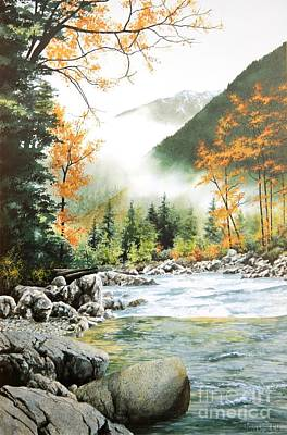 Painting - Alpine Tapestry by Frank Townsley