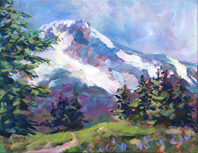 Painting - Alpine View by Melissa Gannon
