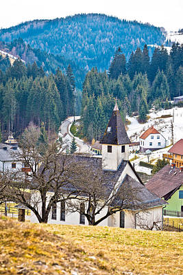 Photograph - Alpine Village Of Kliening In Carinthia by Brch Photography