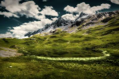 Photograph - Alpisella's Lake by Roberto Pagani