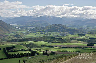 Photograph - Alps And Valleys Of New Zealand. Springtime. Queenstown Area. by Yurix Sardinelly