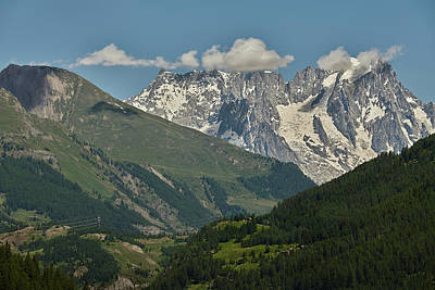 Photograph - Alps In The Distance by Jon Glaser