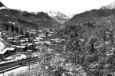 Photograph - Alps Valley View by John Rizzuto