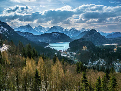 Photograph - Alps by William Shevchuk