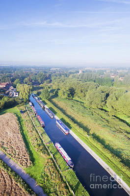 Photograph - Alrewas Canal by Steev Stamford