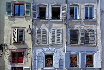 Alsation Windows Art Print by Joachim G Pinkawa