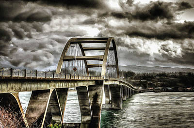Alsea Bay Bridge Art Print