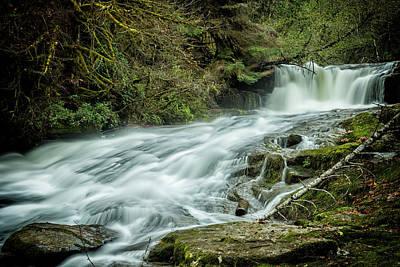 Photograph - Alsea Falls by Belinda Greb