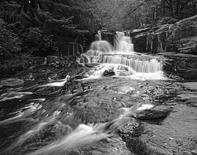Photograph - Alsea Falls by HW Kateley