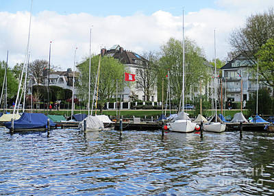 Photograph - Alster Lake 6 by Randall Weidner