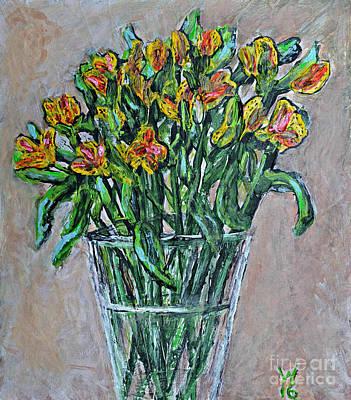 Alstroemeria I Original by Richard Wandell
