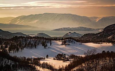 Photograph - Altafjord Near Kviby Finnmark Norway by Adam Rainoff